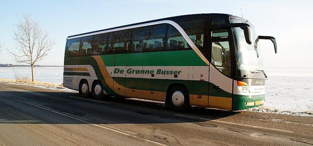 de grønne busser nykøbing f